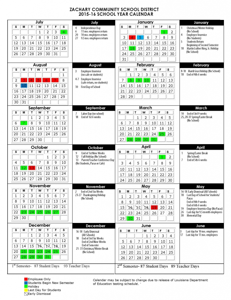2015 Calendar Printable One Page | Calendar Template 2016